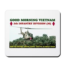 5th INFANTRY DIV VIETNAM Mousepad