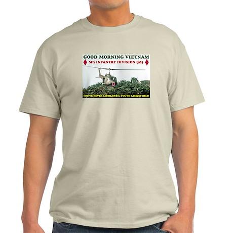 5th INFANTRY DIV VIETNAM Light T-Shirt
