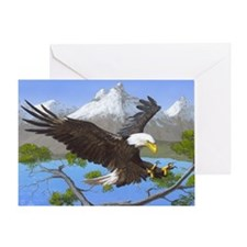 Treetop Landing: Greeting Card