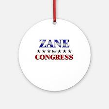 ZANE for congress Ornament (Round)