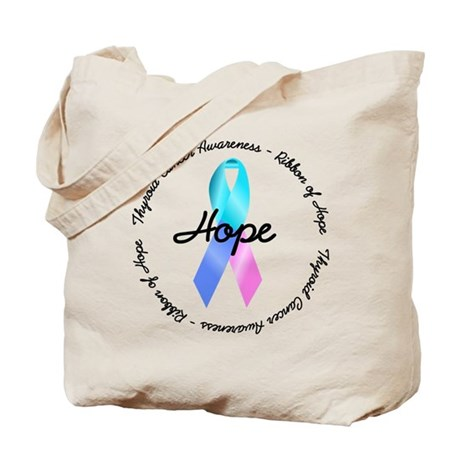Hope-Thyroid Cancer Tote Bag