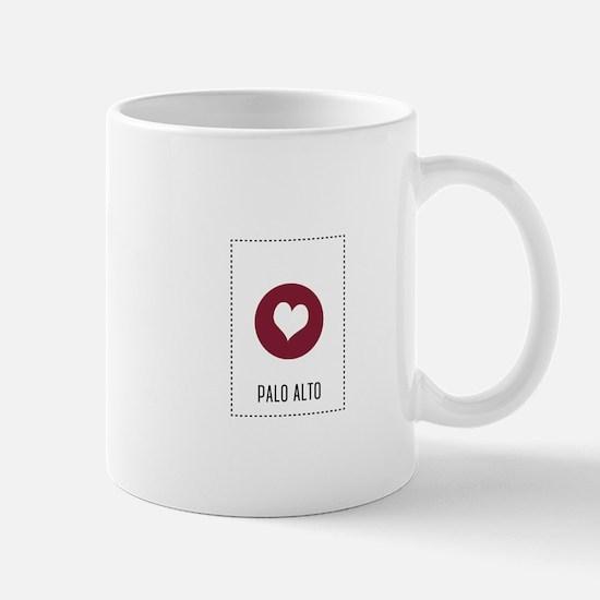 I Love Palo Alto Mugs