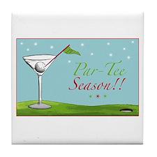 Par-Tee Season - Tile Coaster