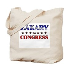 ZAKARY for congress Tote Bag