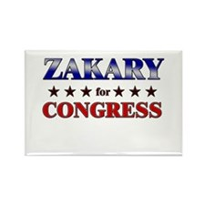 ZAKARY for congress Rectangle Magnet (10 pack)