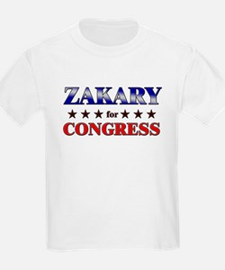 ZAKARY for congress T-Shirt