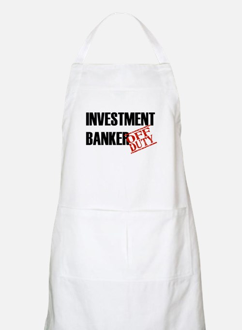 Off Duty Investment Banker BBQ Apron