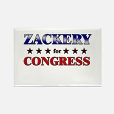 ZACKERY for congress Rectangle Magnet