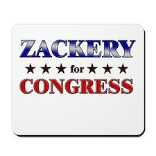 ZACKERY for congress Mousepad