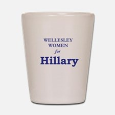 Wellesley4Hil.png Shot Glass
