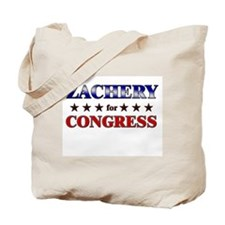 ZACHERY for congress Tote Bag