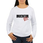 Off Duty Inventor Women's Long Sleeve T-Shirt