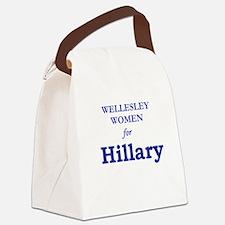 Wellesley4Hil.png Canvas Lunch Bag