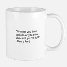 Henry Ford Quote Mug