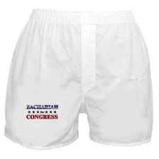 ZACHARIAH for congress Boxer Shorts