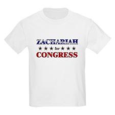 ZACHARIAH for congress T-Shirt