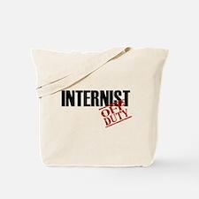 Off Duty Internist Tote Bag
