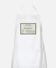 Poetic License BBQ Apron