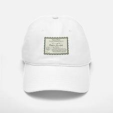 Poetic License Baseball Baseball Cap