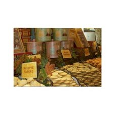 French Sweet Shop Rectangle Magnet (10 pack)