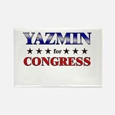 YAZMIN for congress Rectangle Magnet