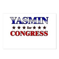 YASMIN for congress Postcards (Package of 8)