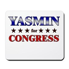 YASMIN for congress Mousepad