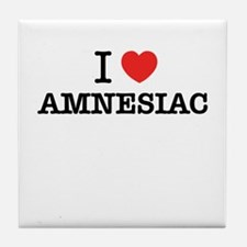 I Love AMNESIAC Tile Coaster