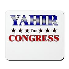 YAHIR for congress Mousepad