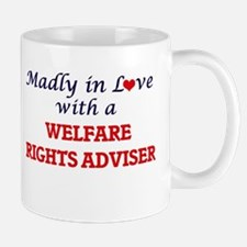 Madly in love with a Welfare Rights Adviser Mugs
