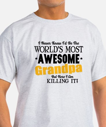 Awesome Grandpa T-Shirt