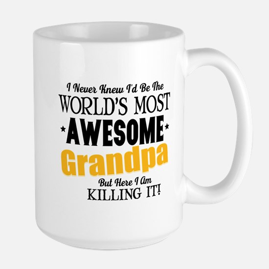 Awesome Grandpa Large Mug