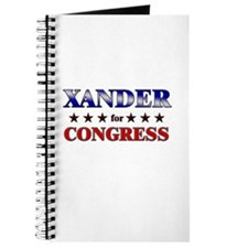 XANDER for congress Journal