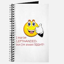 Left-Handed Journal