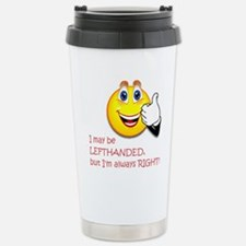 Left-handed Stainless Steel Travel Mug