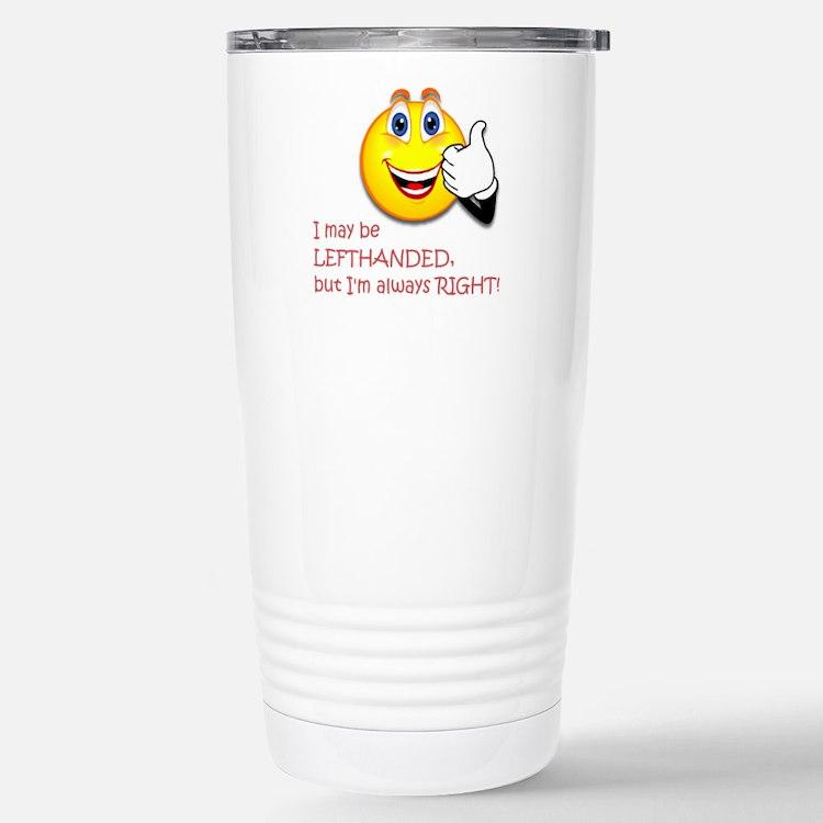 Left-handed Travel Mug