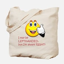 Left-handed Tote Bag