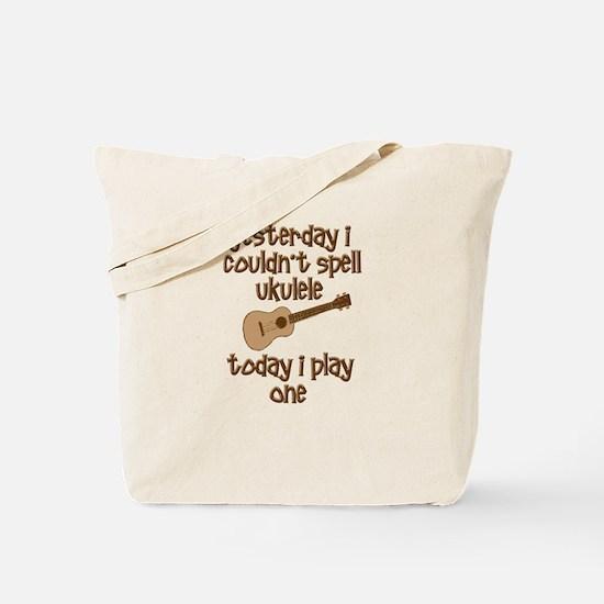 Funny Ukulele Tote Bag
