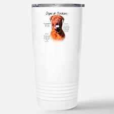 Unique French mastiff Travel Mug
