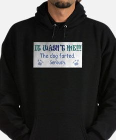 it wasn't me - the dog farted Hoodie
