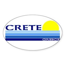Crete Oval Decal