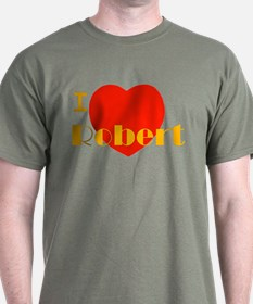 I Love Robert T-Shirt