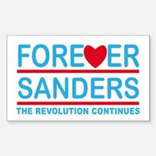 Forever Sanders, the Revolution Continues Decal