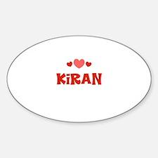 Kiran Oval Decal