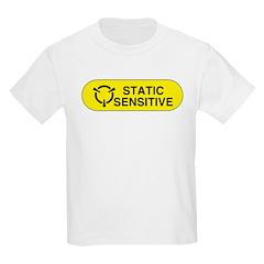 Static Sensitive Kids T-Shirt