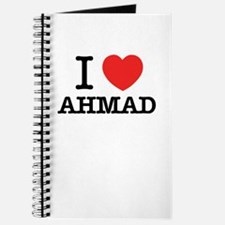 I Love AHMAD Journal