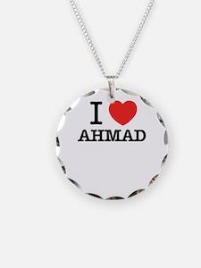 I Love AHMAD Necklace