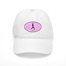 Yoga (euro-pink) Baseball Cap