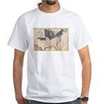 1861 Map White T-Shirt