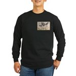 1861 Map Long Sleeve Dark T-Shirt